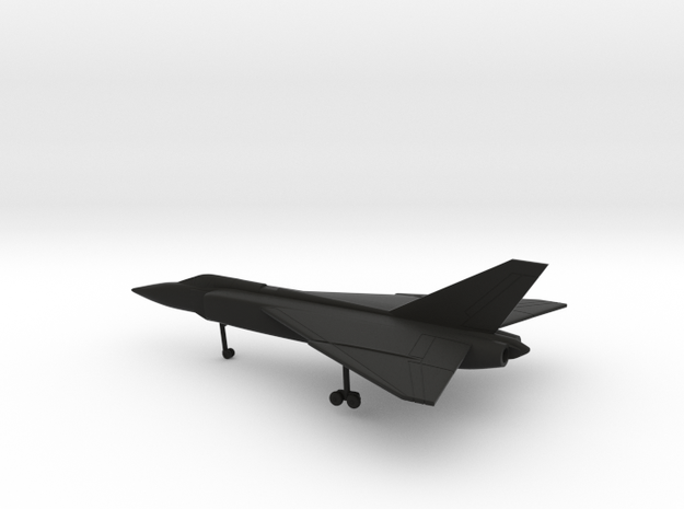 Avro Canada CF-105 Arrow Mk1 in Black Natural Versatile Plastic: 6mm