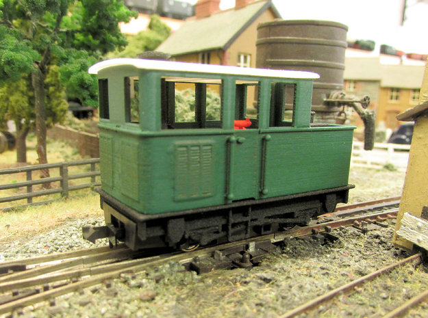 009 Sentinel (Double Window Cab & Vents) - Part 4b in Smooth Fine Detail Plastic