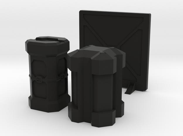Assorted Gribble - 2  in Black Natural Versatile Plastic