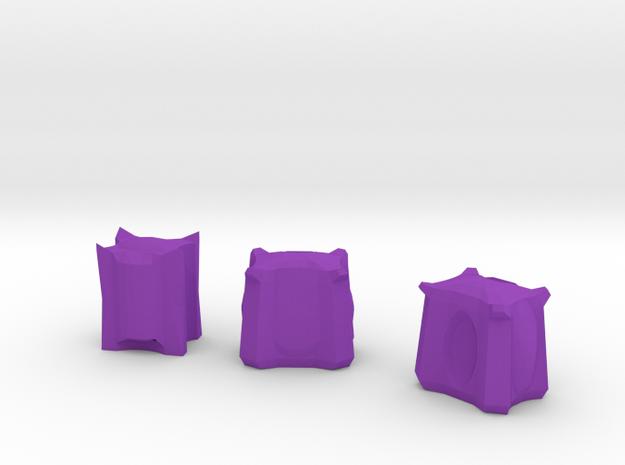 Ammo Pods in Purple Processed Versatile Plastic