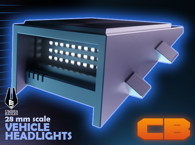CB Umbra Eagles Vehicle LED lights S* 28mm
