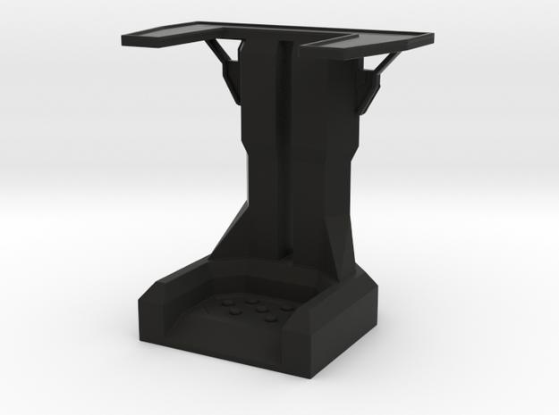 Overwatch Perch in Black Natural Versatile Plastic
