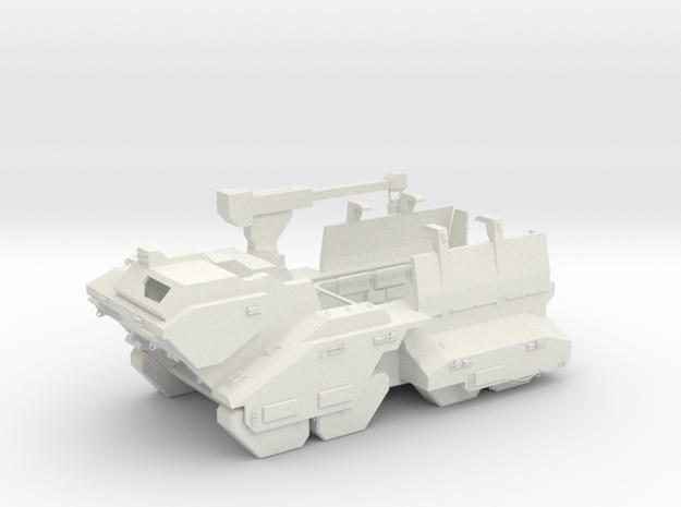 Elephant - Heavy Ground Vehicle in White Natural Versatile Plastic