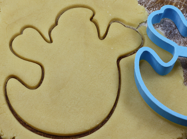Ghost cookie cutter for professional in White Natural Versatile Plastic