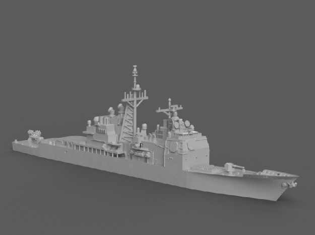 1/1250 USS Bunker Hill in Smooth Fine Detail Plastic