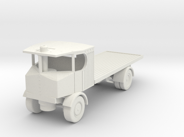 v-100-sentinel-steam-lorry-1 in White Natural Versatile Plastic