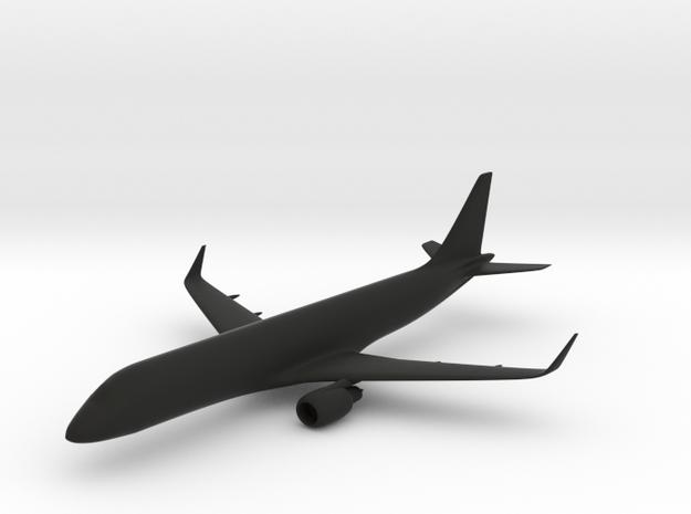 Embraer E190 in Black Natural Versatile Plastic