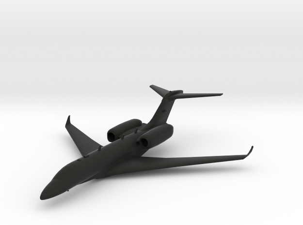 Cessna Citation X in Black Natural Versatile Plastic