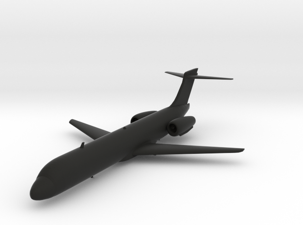 Boeing 717 in Black Natural Versatile Plastic