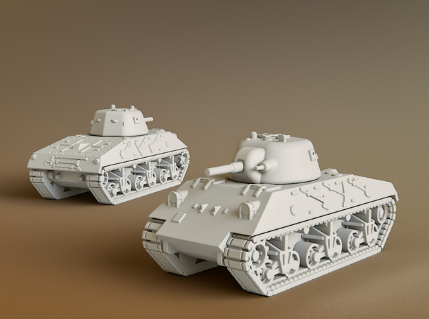 DL43 Nahuel Tank Scale: 1:160 in Smooth Fine Detail Plastic