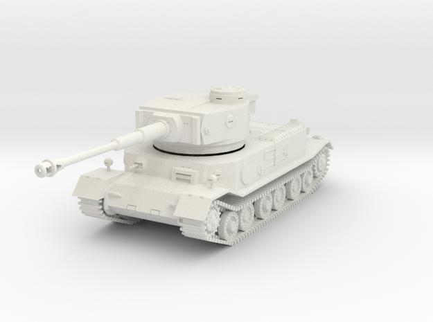 PV161E VK4501(P) Porsche Tiger (1/45) in White Natural Versatile Plastic