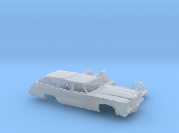 1/160 1972 Pontiac Catalina Station Wagon Kit