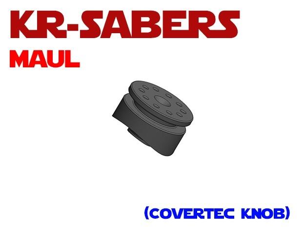 KR-OR Darth Maul - Covertec Knob in Black Professional Plastic