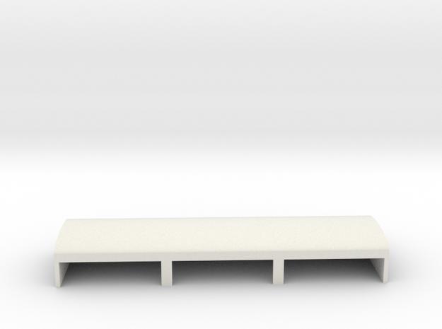 Gardermoen Large Hangers in White Natural Versatile Plastic: 1:700