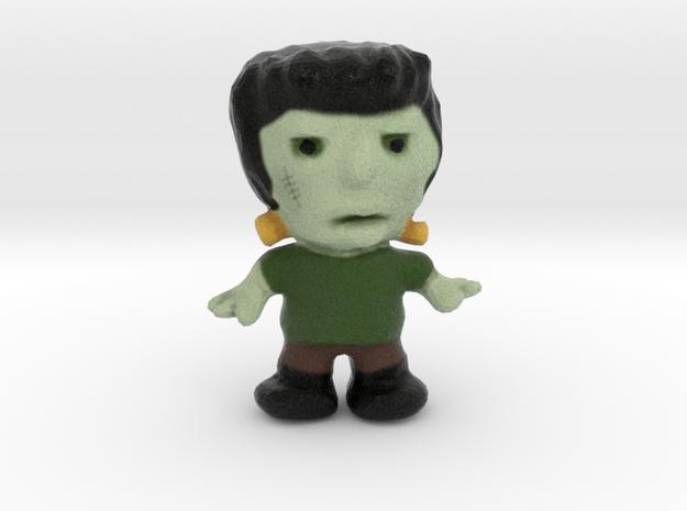Frankenstein Figurine in Natural Full Color Sandstone