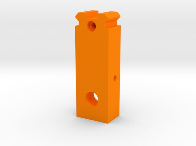 MP5 Front Iron Sight Replacement in Orange Processed Versatile Plastic