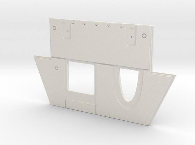 1/35 T-34 Glacis Plate UTZ 183 in White Natural Versatile Plastic