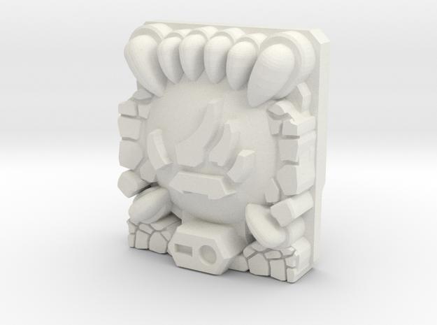Animation/Beast Planet Key Prime Master Plate in White Natural Versatile Plastic