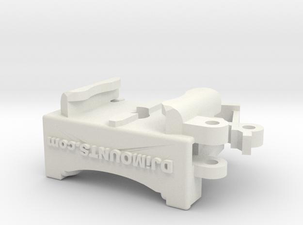 DJi Mavic 2 (Pro & Zoom) Bottom mount  in White Natural Versatile Plastic