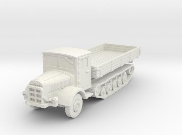 Mercedes L4500 R scale 1/87 in White Natural Versatile Plastic