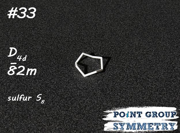 #33 D4dsulfur S8 in White Natural Versatile Plastic
