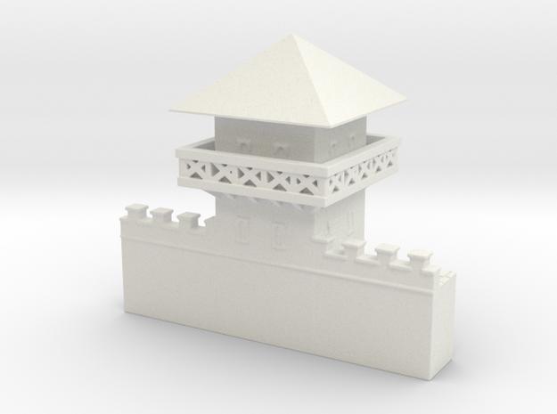 hadrian's wall Watchtower 1/200 in White Natural Versatile Plastic