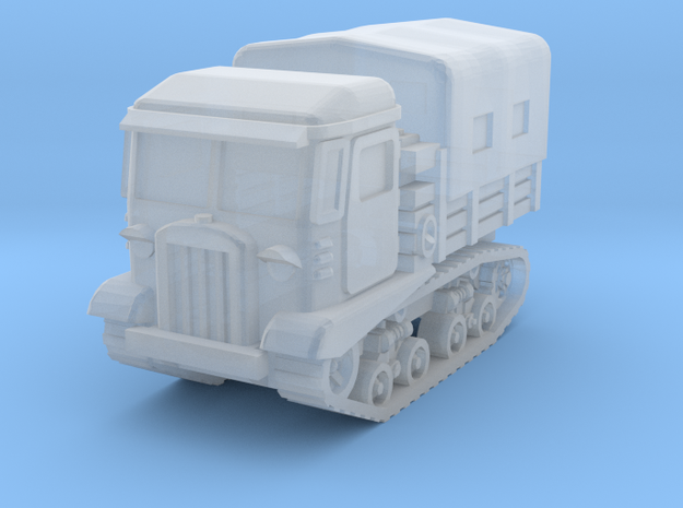 STZ 5 tractor (covered) scale 1/160 in Smooth Fine Detail Plastic