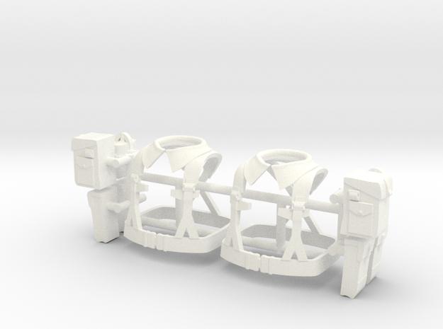 BRELAGE UK WW2 X2  in White Processed Versatile Plastic