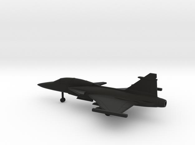 Saab JAS.39D Gripen in Black Natural Versatile Plastic: 1:200