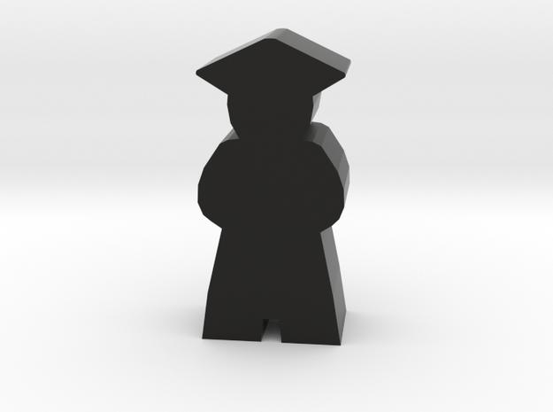 Game Piece, Graduate in Black Natural Versatile Plastic