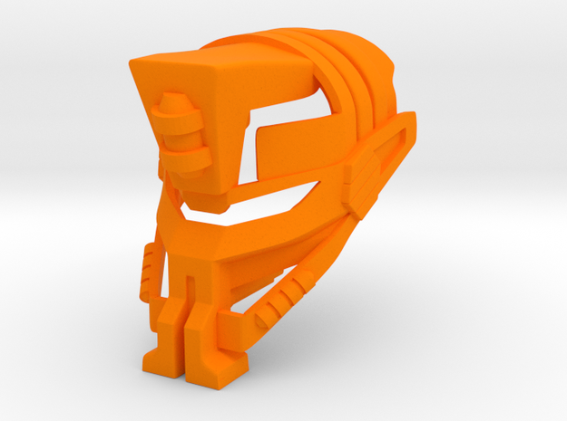 Great Fedaki in Orange Processed Versatile Plastic