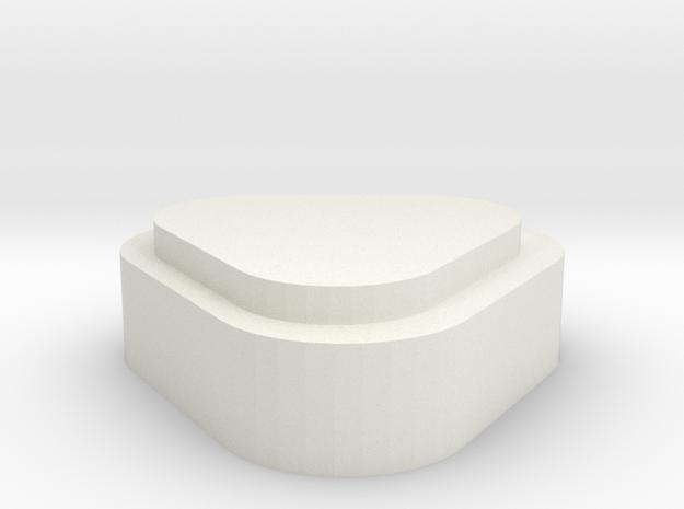 Batteriedeckel LiIon 3S H  in White Natural Versatile Plastic