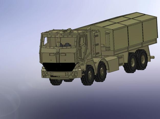 MB Actros gepanzert / armoured 1:160 in Smooth Fine Detail Plastic