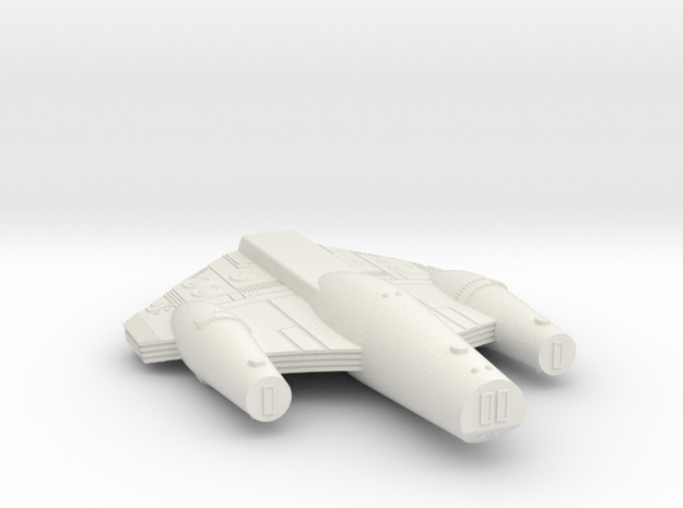 3125 Scale ISC Dreadnought (DN) SRZ in White Natural Versatile Plastic