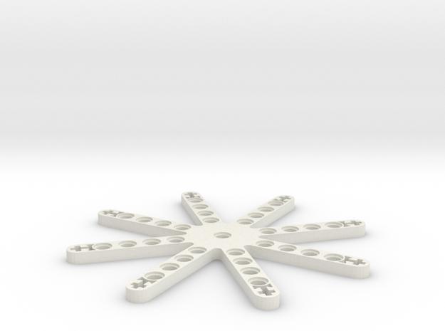 LEGO THRUSTER STAR in White Natural Versatile Plastic