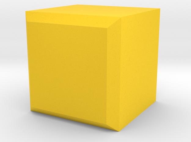 Stackable Desk Organizer in Yellow Processed Versatile Plastic