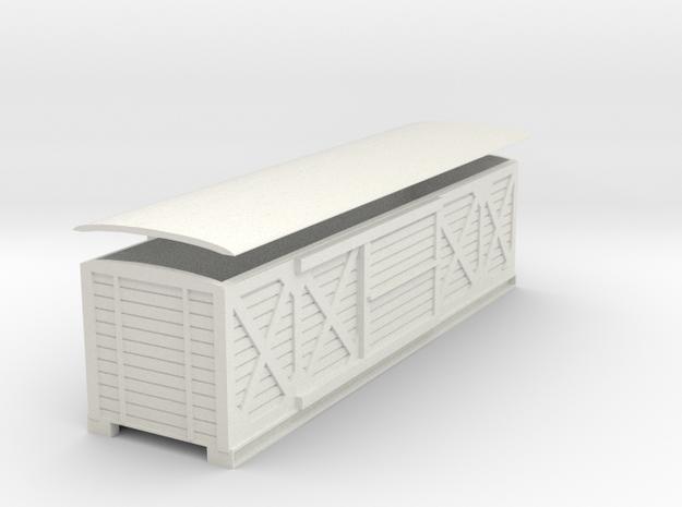 L&B Van cross hatching 7mm in White Natural Versatile Plastic