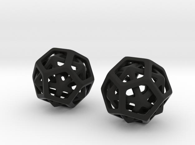 20 Wears 12 in Black Natural Versatile Plastic