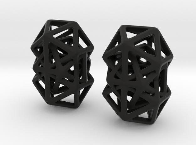X Diamond in Black Natural Versatile Plastic
