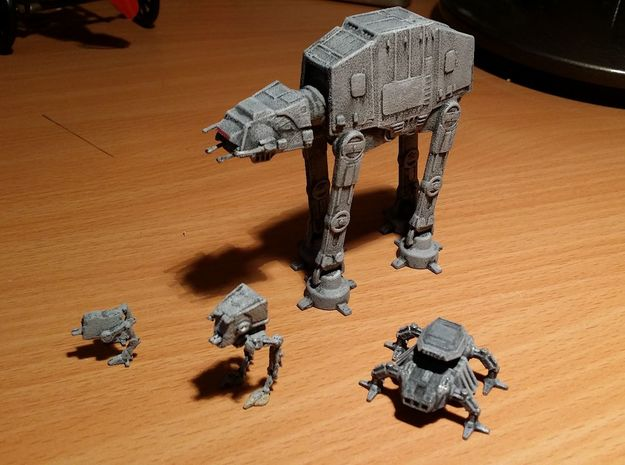 AT-ST 1/270 3d printed