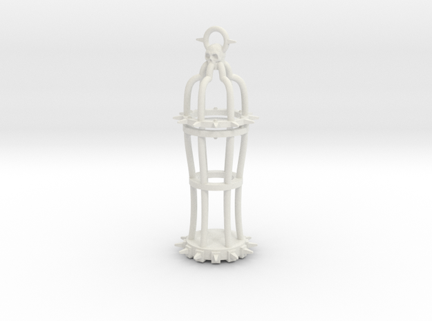 Gibbet type 2 in White Natural Versatile Plastic