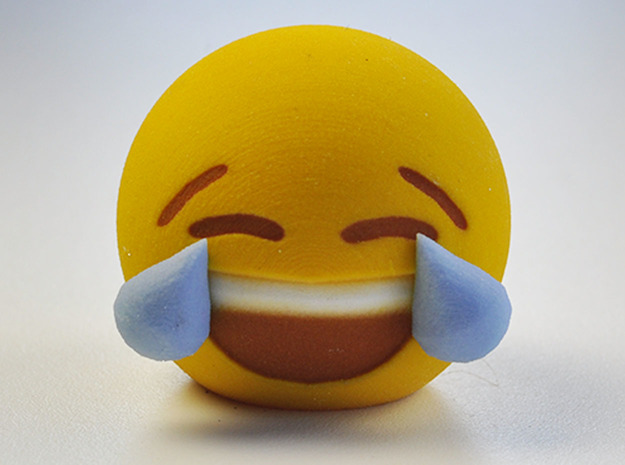 3D Emoji Laugh 'Til You Cry