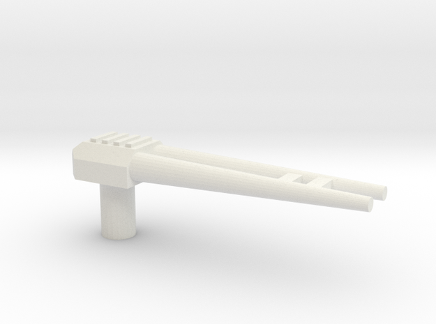 Project DoubleSpy Decepti-gun in White Natural Versatile Plastic