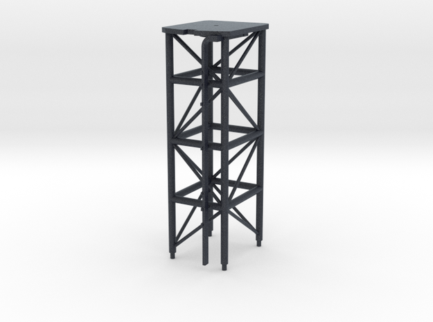 1/96 scale O.H. Perry Mast #2 for SPS-49 Radar in Black PA12