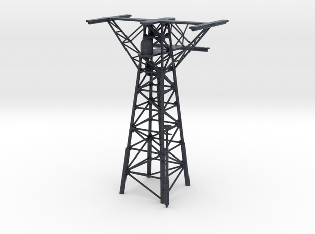 O.H. Perry Mast #3 in 1/200 scale in Black Professional Plastic