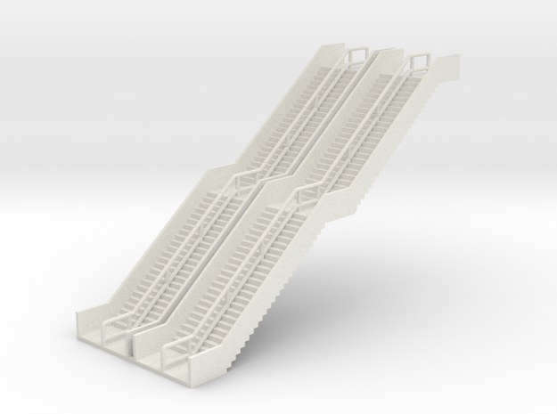 N Scale 2x Stairs Elevated Tram H61mm