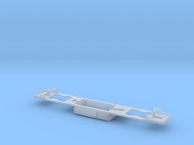 1:160 SU46 Chassis for serial PCB - DCC in Smoothest Fine Detail Plastic
