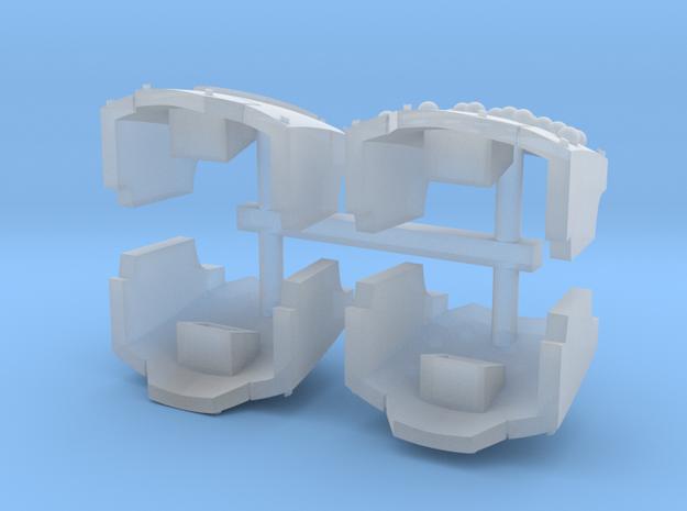 Double Axes MkX Dreadnought shoulder pads set