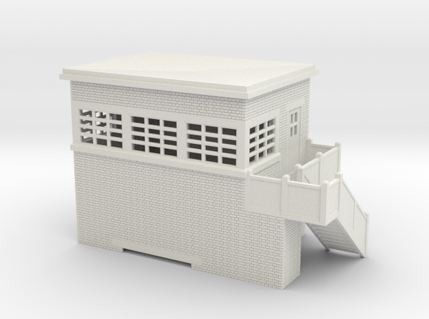 z-100-lms-arp-signal-box-alt-sm-rh in White Natural Versatile Plastic