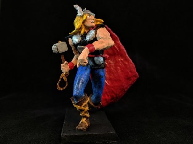 Thor in White Natural Versatile Plastic